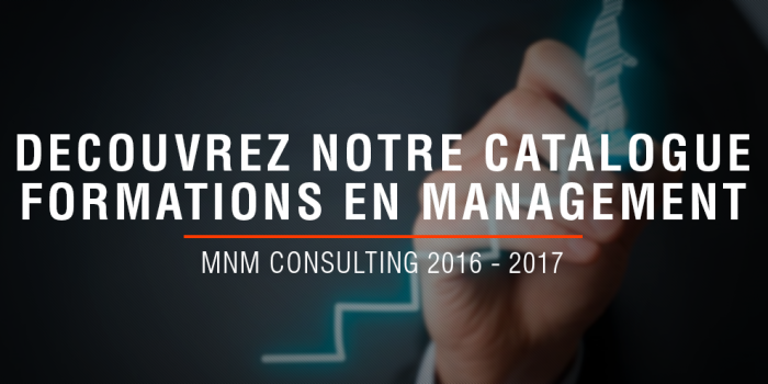 MNM Consulting - Nouveau catalogue de formation