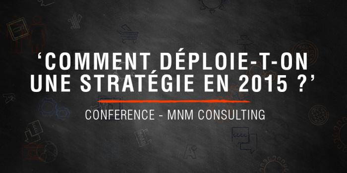 Conférence Stratégie