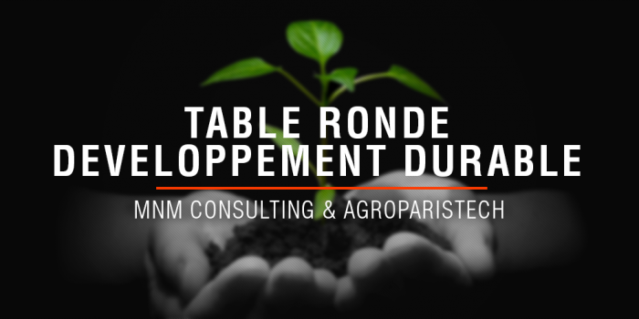 Table Ronde Développement Durable