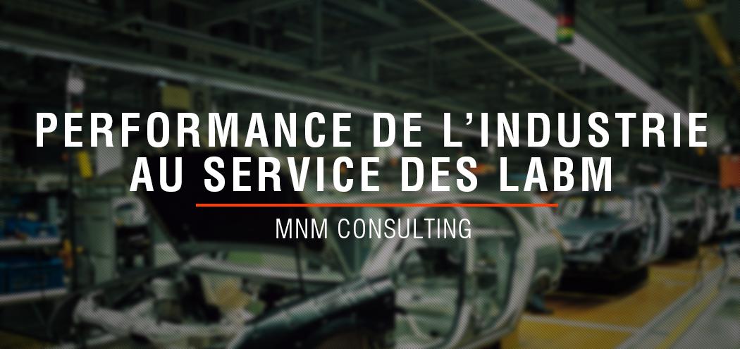 MNM Consulting & Laboratoires / Industrie