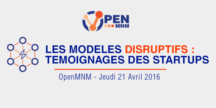 MNM Consulting - OpenMNM - 1ere table ronde