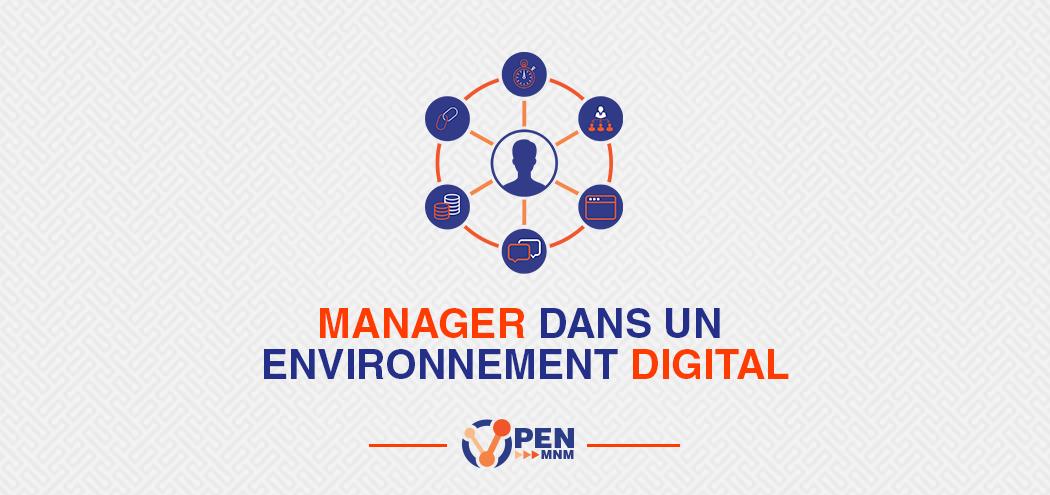Manager dans un environnement digital